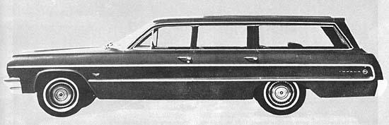 1964 Chevrolet 6 passenger Estate Car